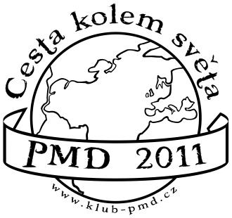 Logo - PMD 2011 Cesta kolem světa